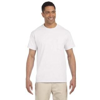 Gildan Men's Ultra Cotton Pocket Undershirts (Pack of 6)