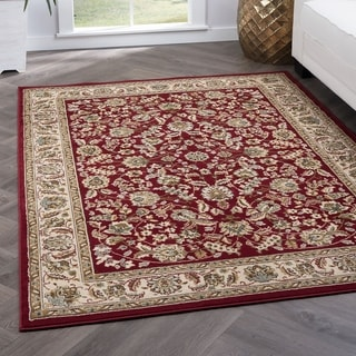Alise Lagoon Traditional Area Rug (7'6 x 9'10)