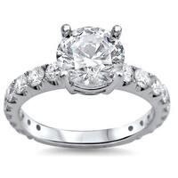 Noori 18k Gold 1 4/5ct TDW Round Diamond Engagement Ring