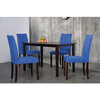 Warehouse of Tiffany 7-piece Royal Blue Shino Dining Set