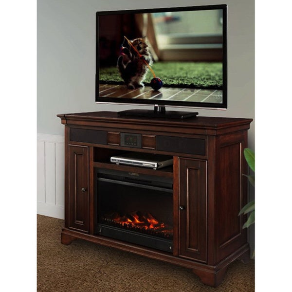 Shop Discontinued Mulberry Audio Tv Fireplace Stand