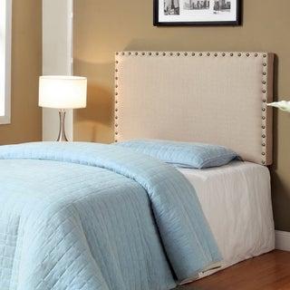 Gracewood Hollow Mendlesohn Adjustable Upholstered Headboard (2 options available)