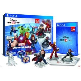 PS4 - INFINITY 2.0 Starter Pack - Marvel Super Heroes