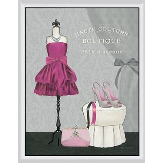 Marco Fabiano 'Dress Fitting Boutique II' Framed Canvas Art