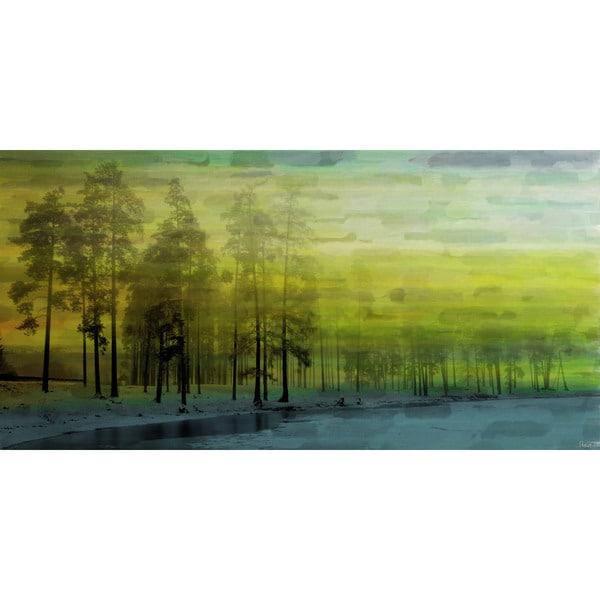 Marmont Hill - Handmade Ice Lake Canvas Art