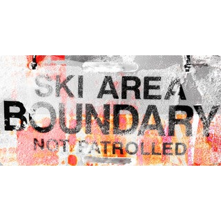 Marmont Hill Art Collective 'Ski Area Boundary' Canvas Art