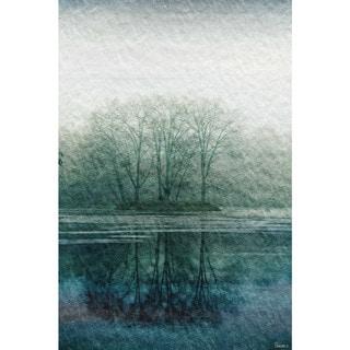 Marmont Hill - Handmade Apple Lake Canvas Art