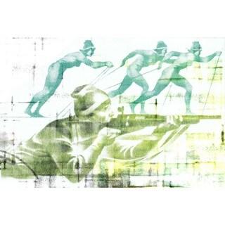 Marmont Hill - Handmade Biathlon Canvas Art