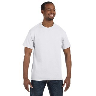 Hanes Men's White Cotton Tagless Undershirts (Pack of 9)