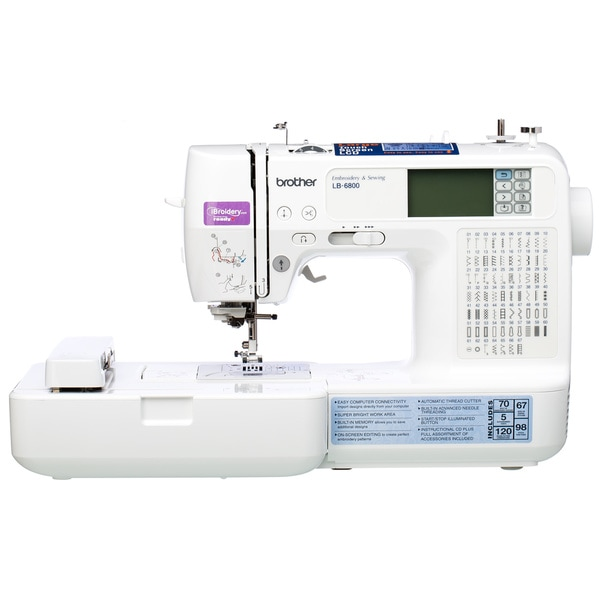 Shop Brother LB40PRW Project Runway Sewing Embroidery Machine Best Brother Project Runway Sewing And Embroidery Machine