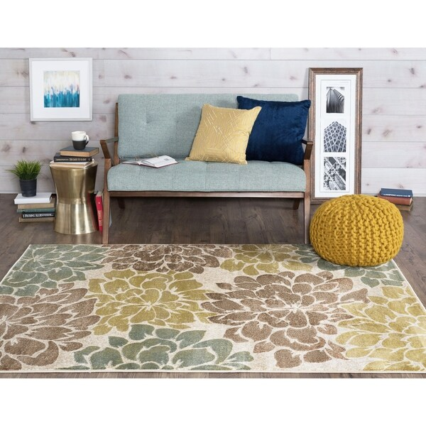 Alise Decora Transitional Area Rug - 5'3'' x 7'3''