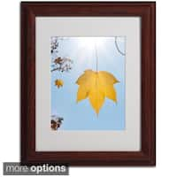 Kurt Shaffer 'Autumn Inspiration' Framed Matted Art