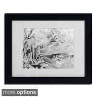 Kurt Shaffer 'Frost Pattern 2' Framed Matted Art