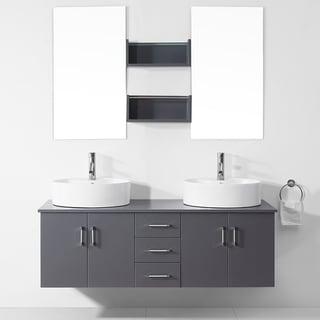 51 60 Inches Bathroom Vanities Vanity Cabinets