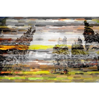 Marmont Hill Art Collective 'Tree Snow 2' Canvas Art