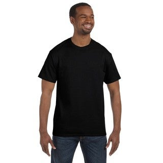Hanes Men's Black Cotton Tagless Undershirts (Pack of 12)
