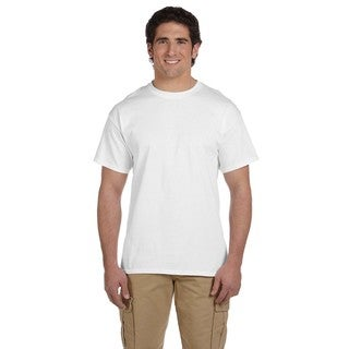 Hanes Men's 50/50 Comfortblend Ecosmart Undershirts (Pack of 9)