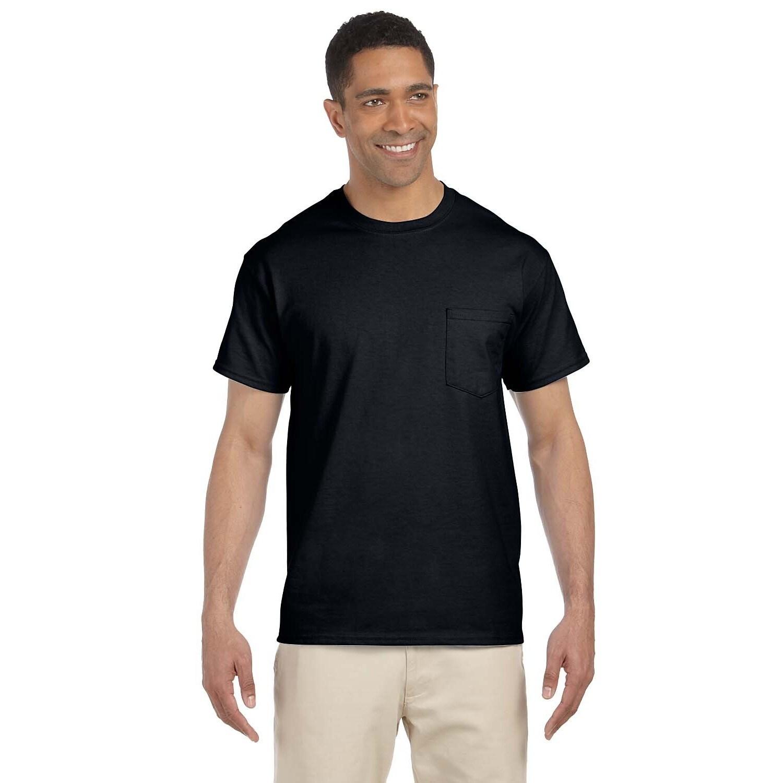 Gildan Mens Ultra Cotton Pocket Undershirts (pack Of 9)