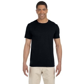 Gildan Men's Black Softstyle Undershirts (Pack of 9)