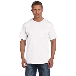 Fruit Of The Loom Men's Heavy Cotton HD Pocket Undershirts (Pack of 9)