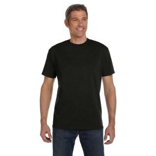 Econscious Men's Black 100-percent Organic Cotton Classic Short-sleeve Undershirt (Bonus Pack of 9)