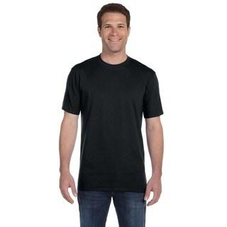 Anvil Men's Ringspun Midweight Undershirt (Bonus Pack of 9)