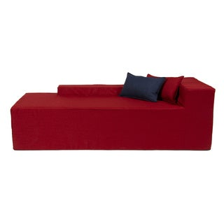 Softblock Very Berry Indoor/Outdoor Foam Chaise  sc 1 st  Overstock : foam chaise lounge - Sectionals, Sofas & Couches
