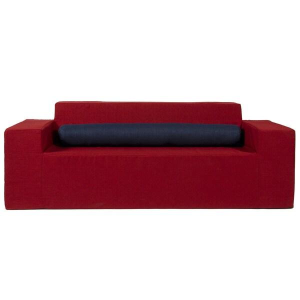 Softblock Very Berry Indoor/Outdoor Foam Sofa