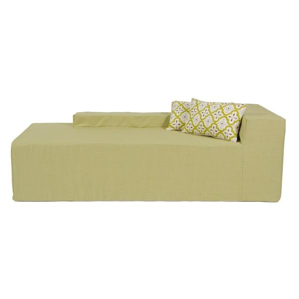 Softblock Sage Indoor/Outdoor Foam Chaise - Softblock Sage Indoor/Outdoor Foam Chaise - Free Shipping Today
