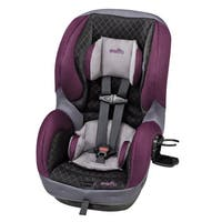 Evenflo SureRide DLX Convertible Car Seat in Sugar Plum