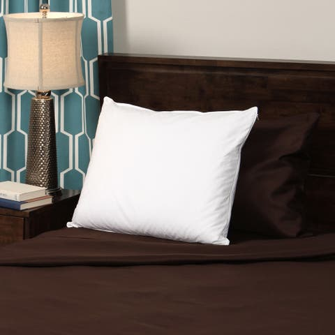 Cozy Classics Deluxe White Goose Down Pillow