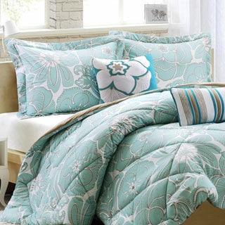 Intelligent Design Charley Floral 5-piece Comforter Set