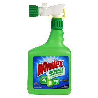 Windex 32-ounce Outdoor Concentrated Window Cleaner (Pack of 8)