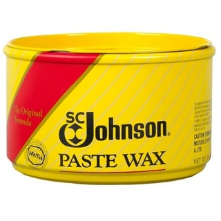 SC Johnson 16-ounce Fine Wood Furniture Paste Wax Can (Pack of 6)