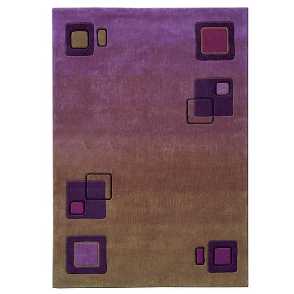 Mystique Squares Rug - 6.7 x 9.6
