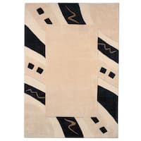 MystiqueAbstract Border Rug - multi - 6.7' x 9.6'