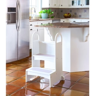 Link to Guidecraft High Rise Step Up White Similar Items in Pretend Play