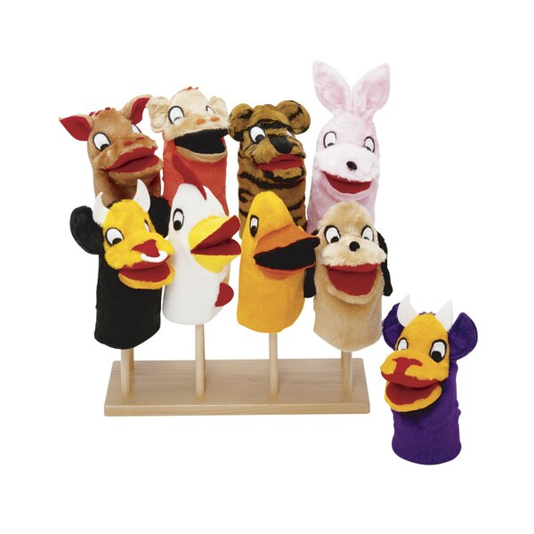 Guidecraft Puppet Stand