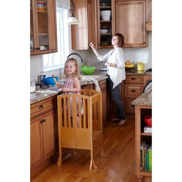 Shop Guidecraft Contemporary Kitchen Helper Honey Free
