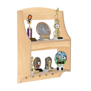Guidecraft Expressions Trophy Rack Natural
