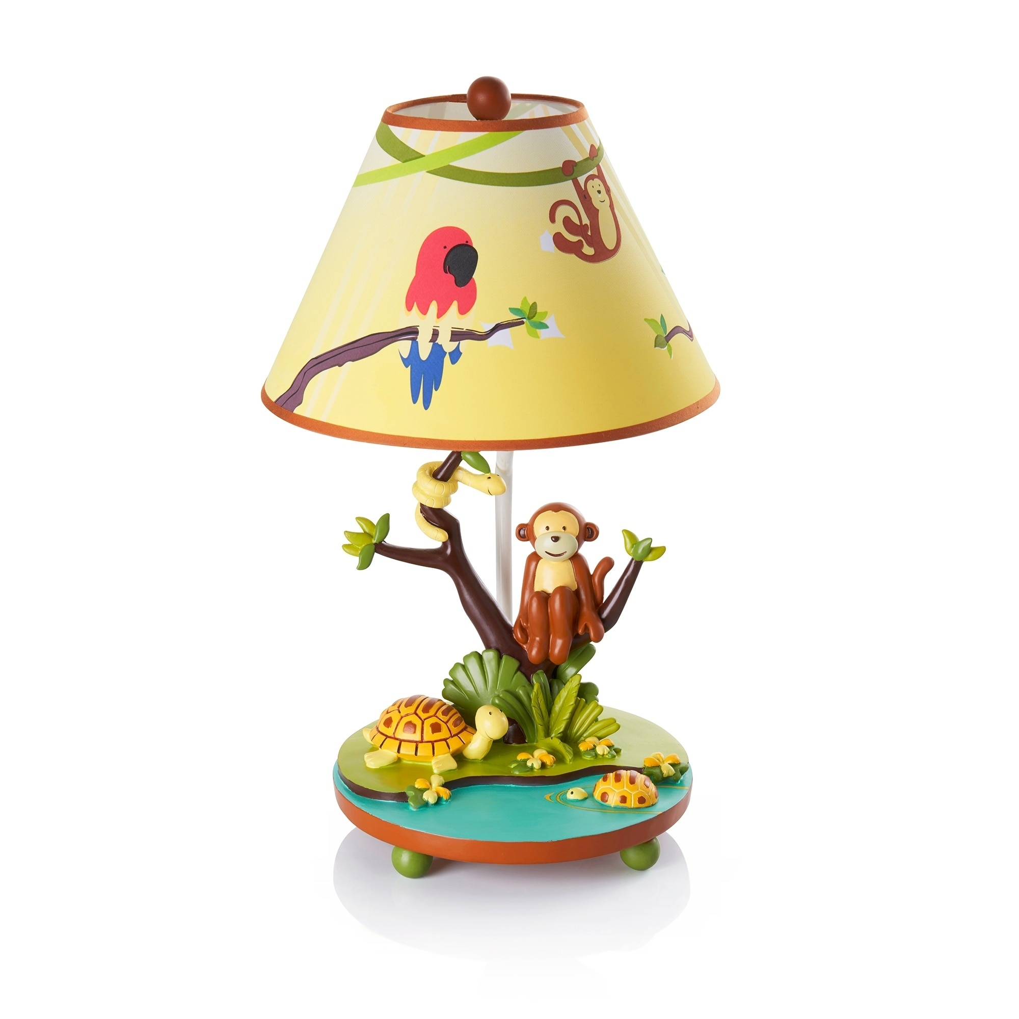 Guidecraft Jungle Party Tabletop Lamp (Jungle Party Table...
