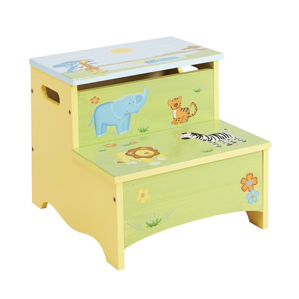 Guidecraft Savanna Smiles Storage Step-Up