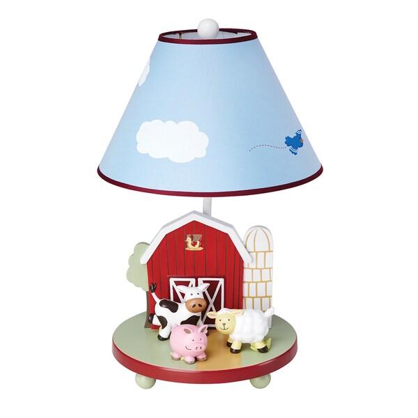 Shop Guidecraft Farm Friends Table Lamp Free Shipping