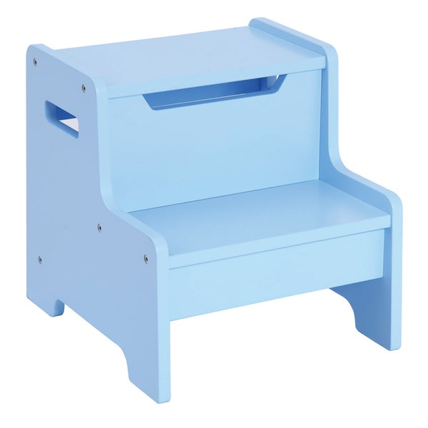 Guidecraft Expressions Step Stool Light Blue