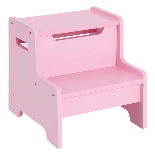 Guidecraft Expressions Step Stool Pink
