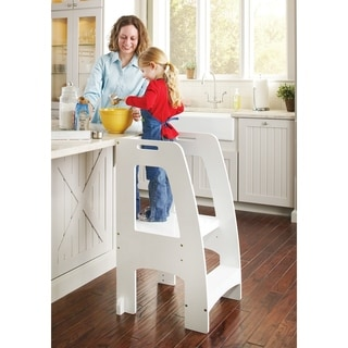 Link to Guidecraft Step Up Kitchen Helper White Similar Items in Pretend Play