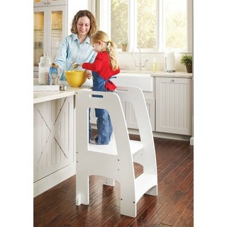 Guidecraft Step Up Kitchen Helper White