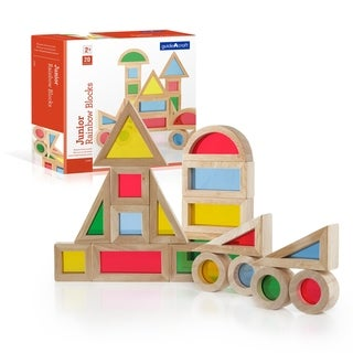 Link to Guidecraft Jr. Rainbow Block 20 Piece Set Similar Items in Learning & Educational Toys