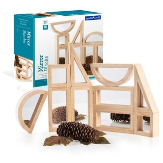 Guidecraft Mirror Blocks 10-piece Set