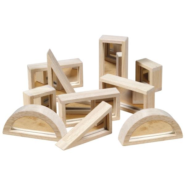 Guidecraft Mirror Blocks 10-piece Set